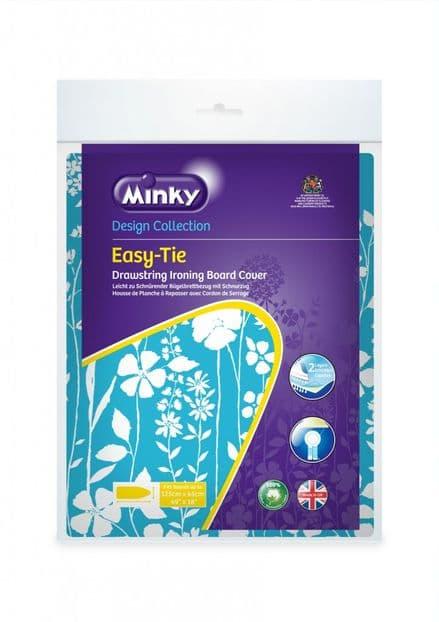 Minky Drawstring (Easytie) Ironing Board Cover - 125 x 45cm